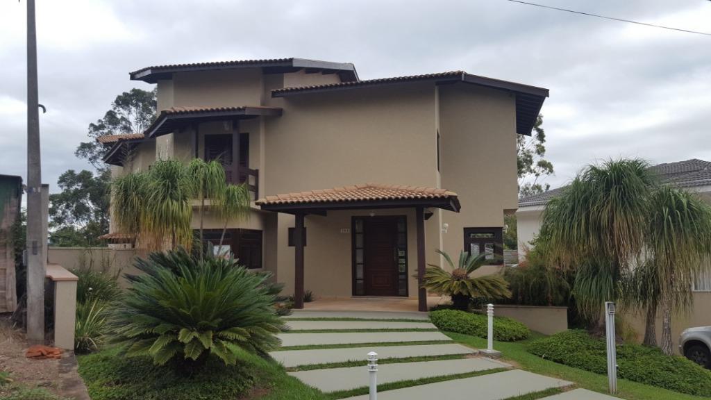 Casa com 5 dormitórios à venda, 640 m² por R$ 2.500.000 - Condomínio Estância Marambaia - Vinhedo/SP