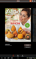 Screenshot of Alice Cucina