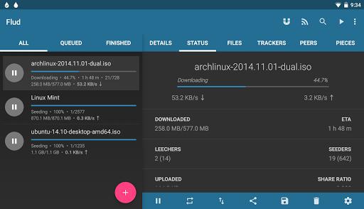 Flud - Torrent Downloader screenshot 11