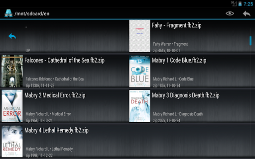 AlReader -any text book reader screenshot 20