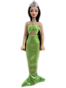 """Кукла """"Abbie"""" Русалка - зеленая"""