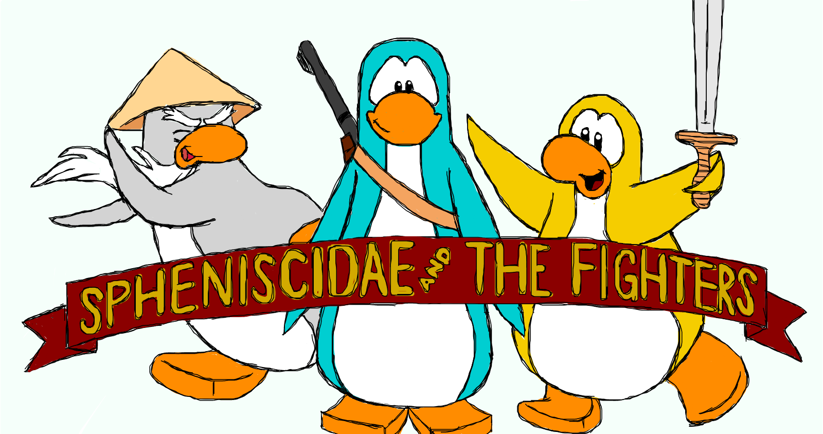Spheniscidae and The Fighters