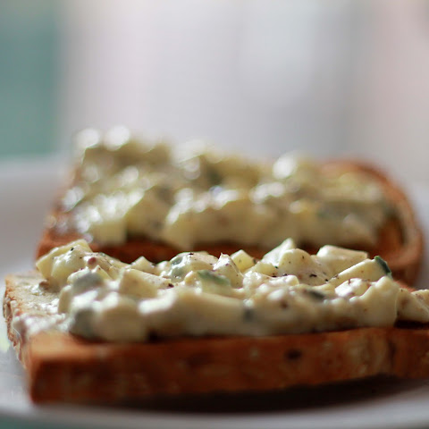 Egg Salad Open Sandwiches