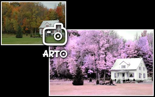 Arto: f.infrared photo - screenshot