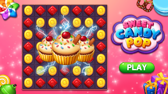 Sweet Candy POP : Match 3 Puzzle for pc
