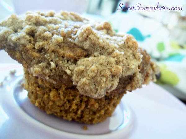 Gluten-Free Pumpkin Muffins with Cinnamon Streusel and Coconut Pecan ...