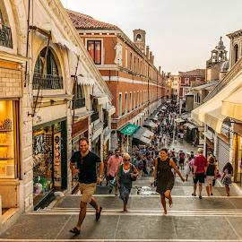 Market by Hariharan Venkatakrishnan - City,  Street & Park  Street Scenes ( # street, #market, #people, #shopping, #venice )