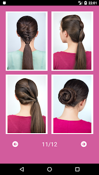 Best Hairstyles Step By Step APK screenshot thumbnail 2