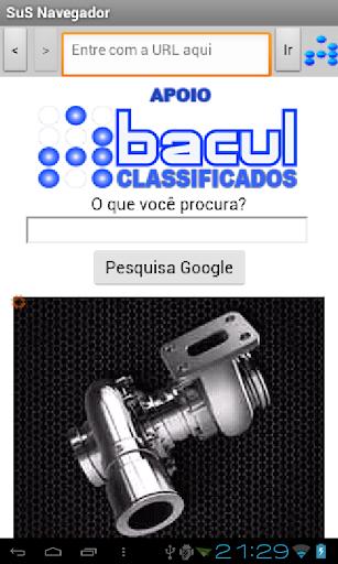 SuS Navegador screenshot 4