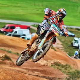 Jump by Stane Gortnar - Sports & Fitness Motorsports ( motocross, motorbike, dirty race, race, cross, jump )