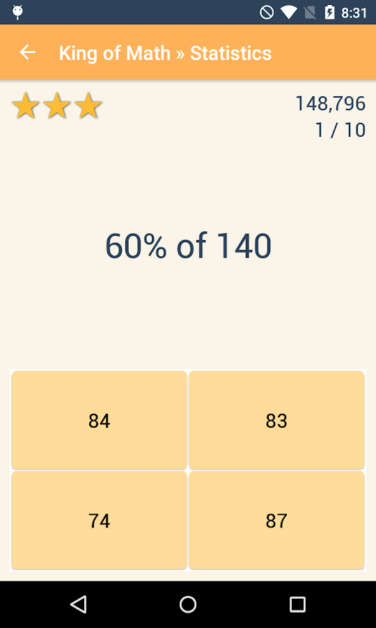 King of Math Pro Screenshot 4