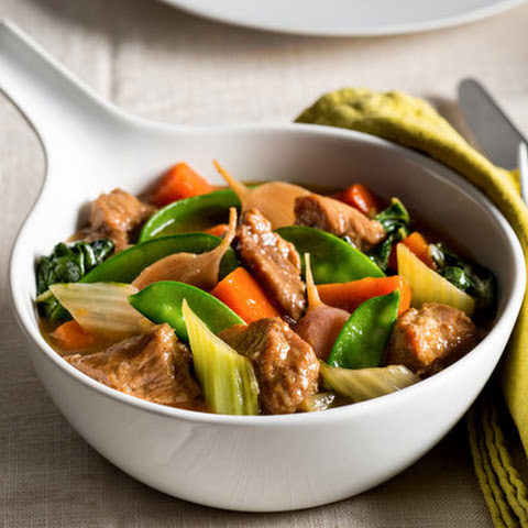 Chinese-Style Vegetable and Veal Stew