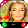 Fake Call With Girl Real Voice APK for Bluestacks
