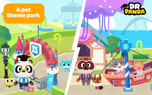 Dr. Panda Town: Pet World For PC