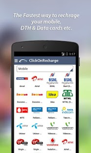 Click On Recharge - screenshot