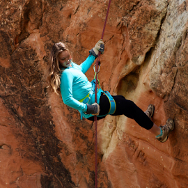 by Dennis Robertson - Sports & Fitness Climbing