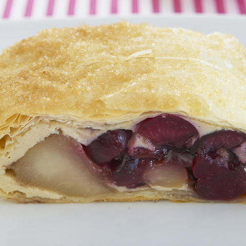 Cherry and Pear Strudel