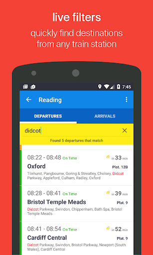 Reading Next Bus - screenshot