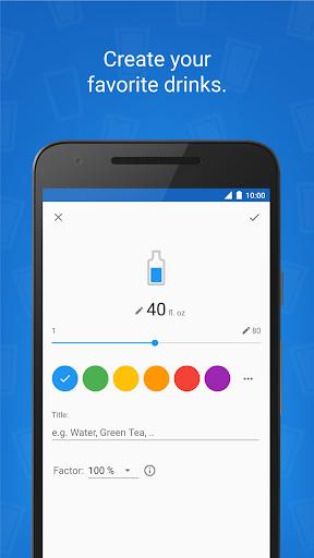 Hydro Coach PRO - drink water - screenshot