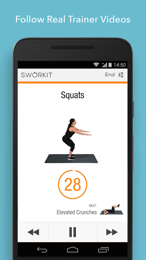 Sworkit Personalized Workouts Screenshot 3