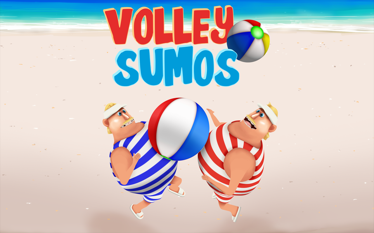 Volley Sumos - Versus game Screenshot 14