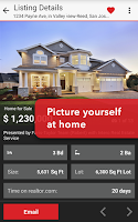 Screenshot of Realtor.com Real Estate, Homes