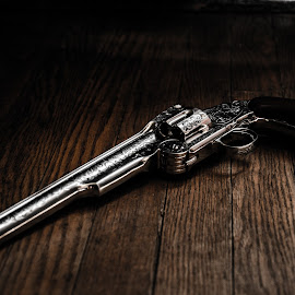 Wyatt Earp 1874 Schofield .44 Smith and Wesson revolver by Florin Marksteiner - Artistic Objects Antiques ( tombstone, schofield, cowboy, guns, shefiff, arizona, wyatt earp, smith and wesson, outlaw, revolver )