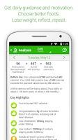 Screenshot of MyNetDiary Calorie Counter PRO