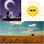 morning, afternoon, night APK Image