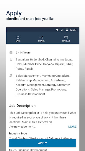 Naukri.com Job Search screenshot 2