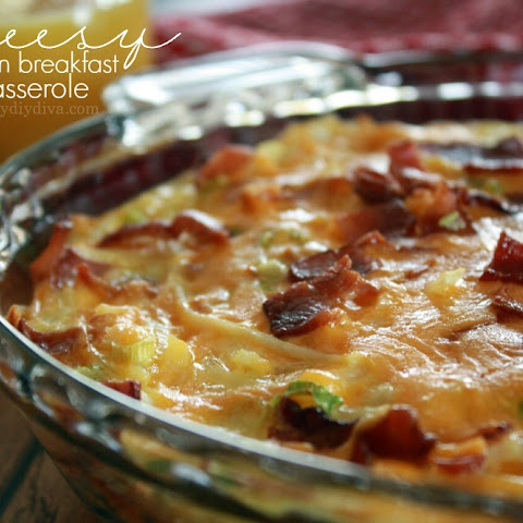 Bacon, Egg, Cheese and Hashbrown Breakfast Casserole