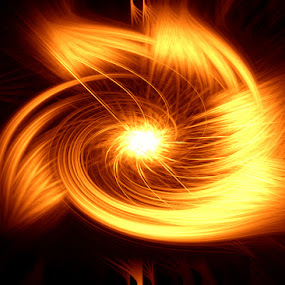 swirls.... by Nirabhra Mandal - Abstract Light Painting