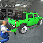 Hummer Car Mechanic 3D Icon