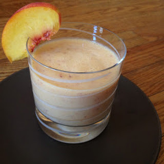 Ginger Peach Smoothies