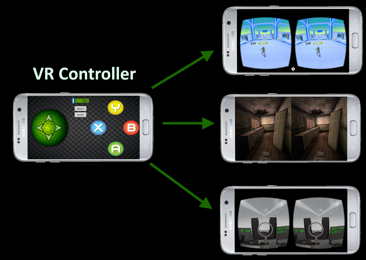 VR Controller Screenshot 1