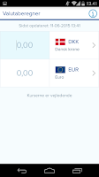 Screenshot of Nordea Mobile Bank - Denmark