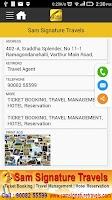 Screenshot of YPOOM Local Offline Search App