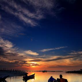 Teduh Senja by Endy Wiratama - Landscapes Weather