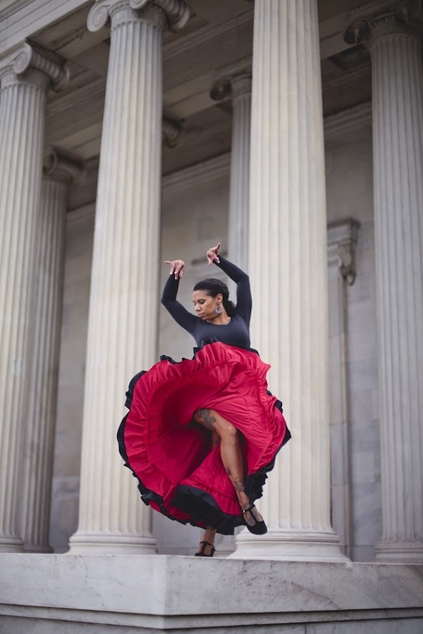 Flamenco  by Kristen VanDeventer Rice - People Musicians & Entertainers