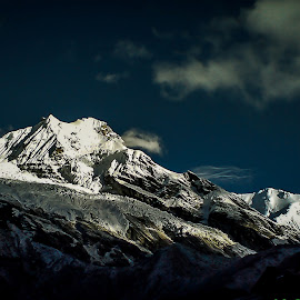 Inception point... by Akashneel Banerjee - Instagram & Mobile Android ( day n night, mountain, nature, himalaya, landscape )