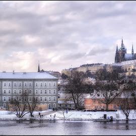 the Prag by Jana Vondráčková - City,  Street & Park  Vistas