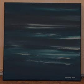 In de verre verte by Kris Van den Bossche - Painting All Painting