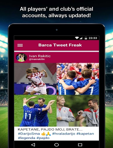 Tweet Freak for FC Barcelona APK