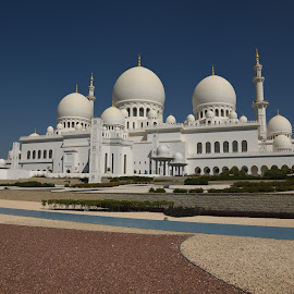 Sh. Zayed Grand Mosque, Abu Dhabi by Kumar Gowda - Buildings & Architecture Places of Worship
