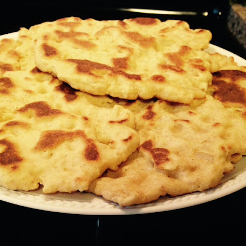 Paleo Naan or Onion Kulcha Bread