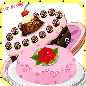Cooking in kitchen - Bake Cake