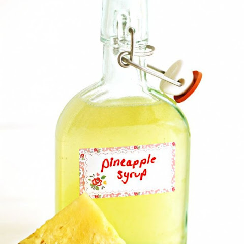How to make Pineapple Syrup