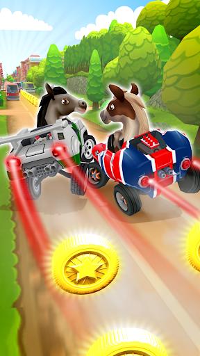 Pony Craft Unicorn Car Racing  Boy Girl Driving For PC