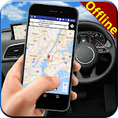 GPS World Offline Map: Live Driving Route Guide APK for Bluestacks
