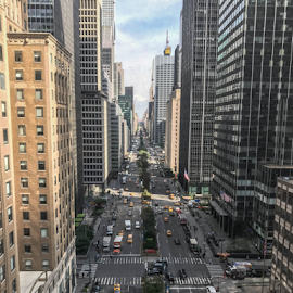 Park Avenue by Michael Lunn - Instagram & Mobile iPhone ( manhattan, nyc, big apple, new york )